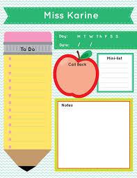 2016 teacher notepads calendarpag gift 1