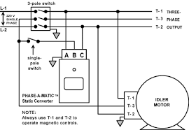 phase a matic static phase converter installation method number 2 isolation switch installation