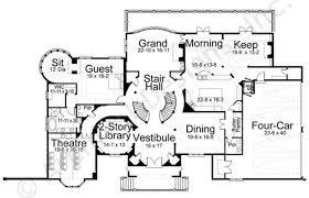 castle house plans. Dysart Castle House Plan - Floor First Plans