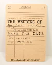 Reserve The Date Cards Vintage Library Save The Date Card Literary Theme Onepaperheart