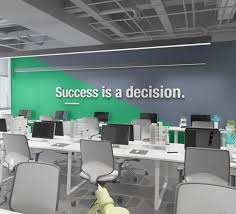 Office Wall Design Inspiration Pin On Motivational Spaces
