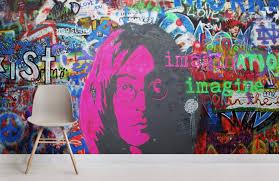 john lennon imagine graffiti wallpaper