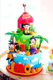 Dragon Ball Z Cake Images Fancy Birthday Cakes Ideas Buyviagranow