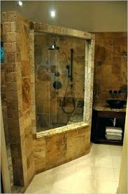pebble floor tiles bathroom beautiful shower walls remarkable tile no grout at wall options sealer