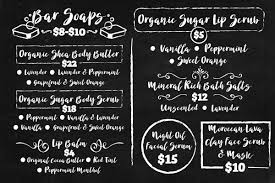 Chalkboard Menu Board Chris Brett Chalkboard Menu Board Design