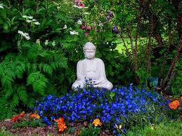 buddha garden. I Have A Garden Bhudda Too. Someday The Foliage Around It Will Be This Lush Buddha 0