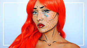 ic pop art makeup tutorial mugeek vidalondon