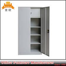 jas 008 metal cupboard inside safe box steel 2 doors filing cabinet for army