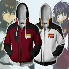 <b>Mobile Suit 3D printed</b> zipper cardigan hooded sports jacket ...