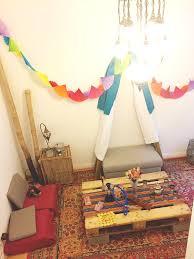 diy boho party decor
