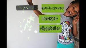 diy glow in the dark locker mobile chandelier school how to l glitter girls club