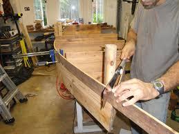 wooden canoe shelf plans designs