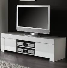 Rimini Collection Small TV Unit - White Gloss