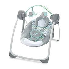 Amazon.com : Ingenuity Comfort 2 Go Portable Swing, Jungle Journey ...