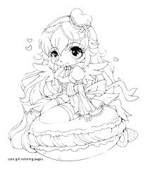 High Quality Coloring Pages Cute Girl Coloring Pages Collection Of