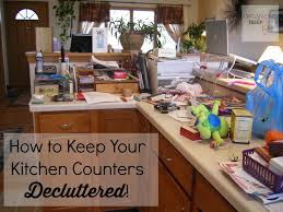 how to keep your kitchen counters decluttered for good organizingmadefun com