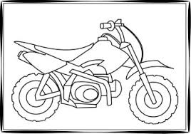 Small Picture Dirt Bike Coloring Pages
