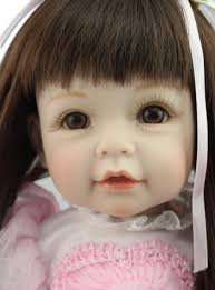 child size love doll 52cm pink princess doll silicone reborn babies lifelike lovely girl