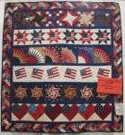 Spokane Quilt Show | The Pieceful Life of Michele Crawford & Today I am posting patriotic quilts from the WSQ quilt show in Spokane to  show my pride in being an American, and a quilter! God bless America! Adamdwight.com