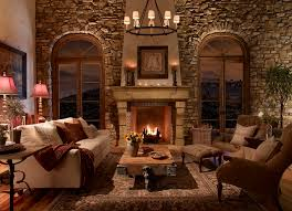 traditional stone fireplace creating a cozy warm atmosphere 25 stone fireplace designs