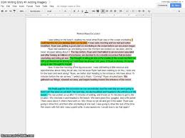 adding imagery in personal narratives