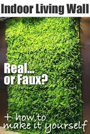how to make a faux plant living wall in your bathroom on artificial forest fern green wall foliage with the easy way to add a living wall in a bathroom
