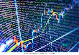 Code Stock Chart Computer Source Code Stock Graph Chart Stock Photo Edit Now