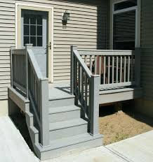 outdoor stair railing ideas wooden exterior stair railing ideas for covered backyard deck design exterior wooden outdoor stair railing