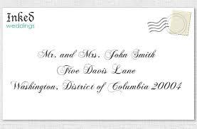 how to properly address wedding invitations unique wedding ideas Wedding Invitation Address Protocol wedding invitation to a married couple Wedding Invitation Etiquette