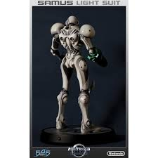 Metroid Light Suit Metroid Samus Light Suit 1 4 Scale Statue By First 4