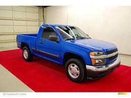 2007 Pace Blue Chevrolet Colorado LT Regular Cab #25841617 ...
