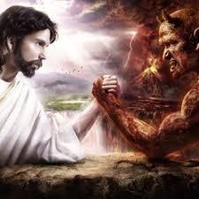 God vs Satan by Jerome Fields TN