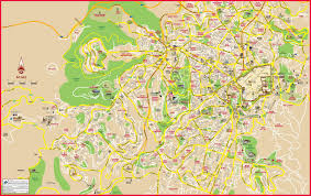 jerusalem maps  israel  maps of jerusalem