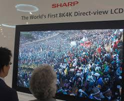 sharp 85 inch tv. sharp\u0027s prototype 85-inch 8k lcd tv \u0027looks like real life\u0027 sharp 85 inch tv c