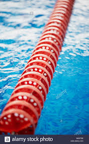 the delimiter is hard lanes in the pool red plastic swimmers peions