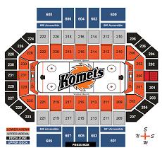 Coliseum Seating Chart Fort Wayne Wallseat Co