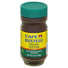0 calories, nutrition grade (a minus), problematic ingredients, and more. Amazon Com Cafe Bustelo Decaffeinated Instant Espresso 3 52 Ounce Pack Of 4 Instant Coffee Grocery Gourmet Food
