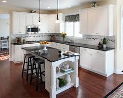 High Gloss White Kitchen Kitchen Idea With Cabinets To Ceiling Also Black Flooring Enticing