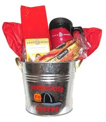 firefighter gift basket