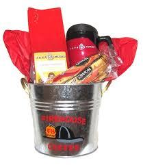 firefighter gift basket