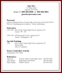 Resume For Summer Job College Student Nmdnconference Com Example