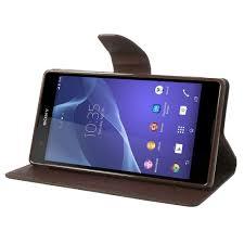Sony Xperia T2 Ultra Black Fancy Wallet ...