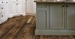 vinyl plank wood look floor versus engineered hardwood wood floor in kitchen or tile