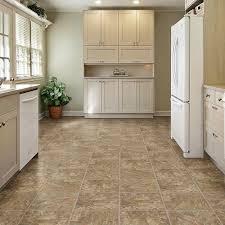 Vinyl Tile Flooring Kitchen Trafficmaster Take Home Sample Allure Red Rock Resilient Vinyl