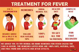 Home remedies for high fever
