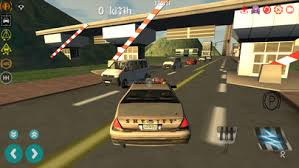 screenshot 2 for police car driving simulator 3d cop cars sd racing driver game