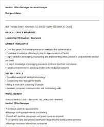 Gallery Of Free Manager Resume Templates 40 Free Word Pdf Documents