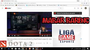 main dota 2 tercepat bareng admin ligagame esports youtube