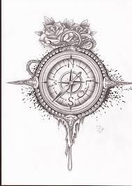 Tetování Kompas Tetování Tattoo