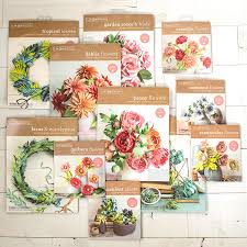 Paper Flower Kit Introducing Our New Frosted Paper Flower Kits Lia Griffith